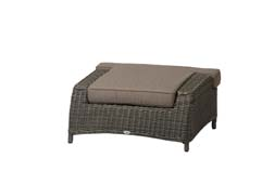 Orleans lounge footrest rocky-grey