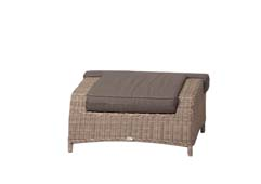 Orleans lounge footrest natura