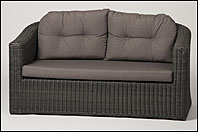 Lyon lounge bank rocky grey incl. kussens