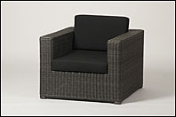 Reims lounge chair rocky grey incl. kussens