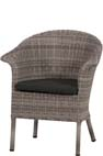 Athene Dining colonial-grey, incl. cushion